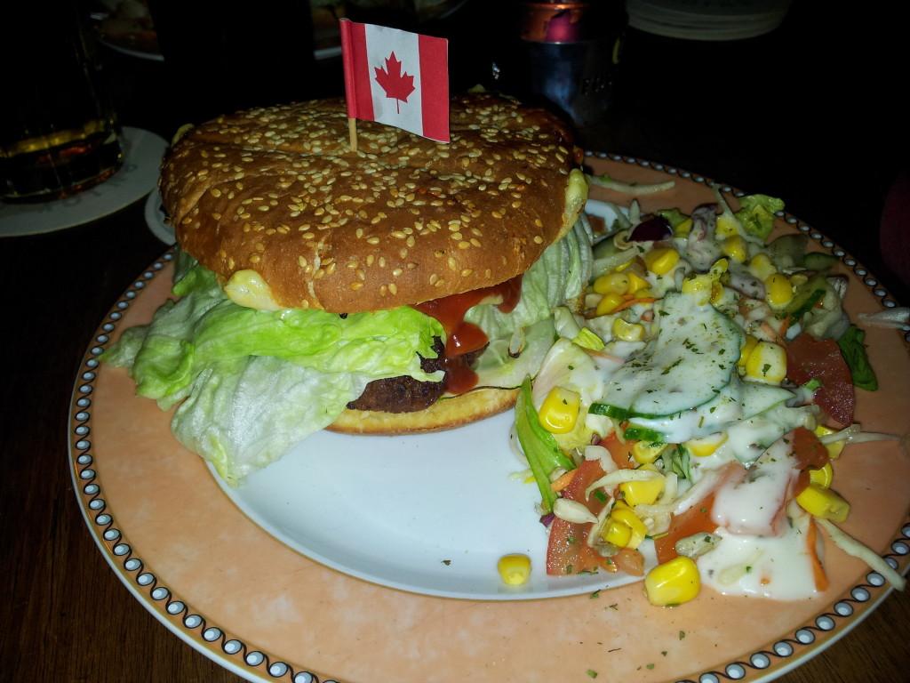 Big Farmer: 4,30 mit Beilagensalat
